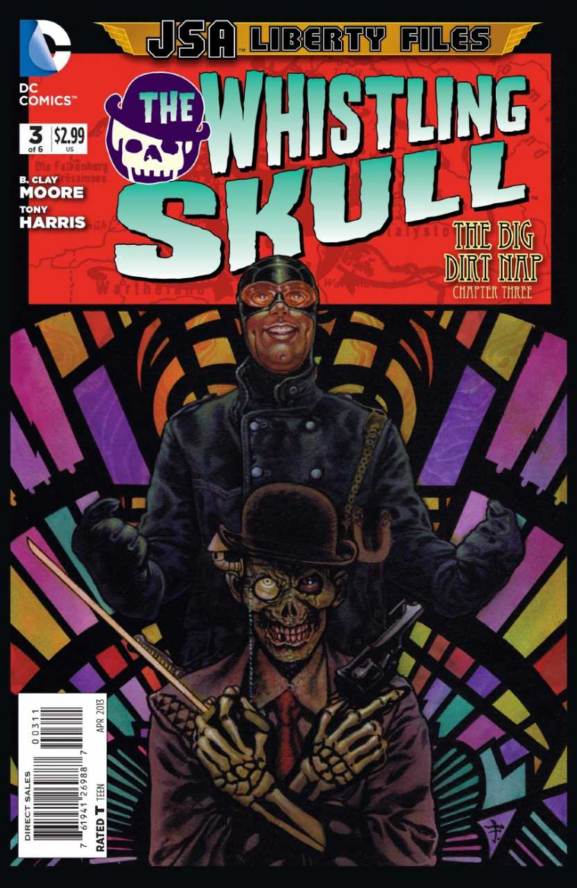 JSA Liberty Files: The Whistling Skull Vol 1 3