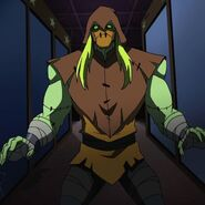 Scarecrow Batman Unlimited 0001