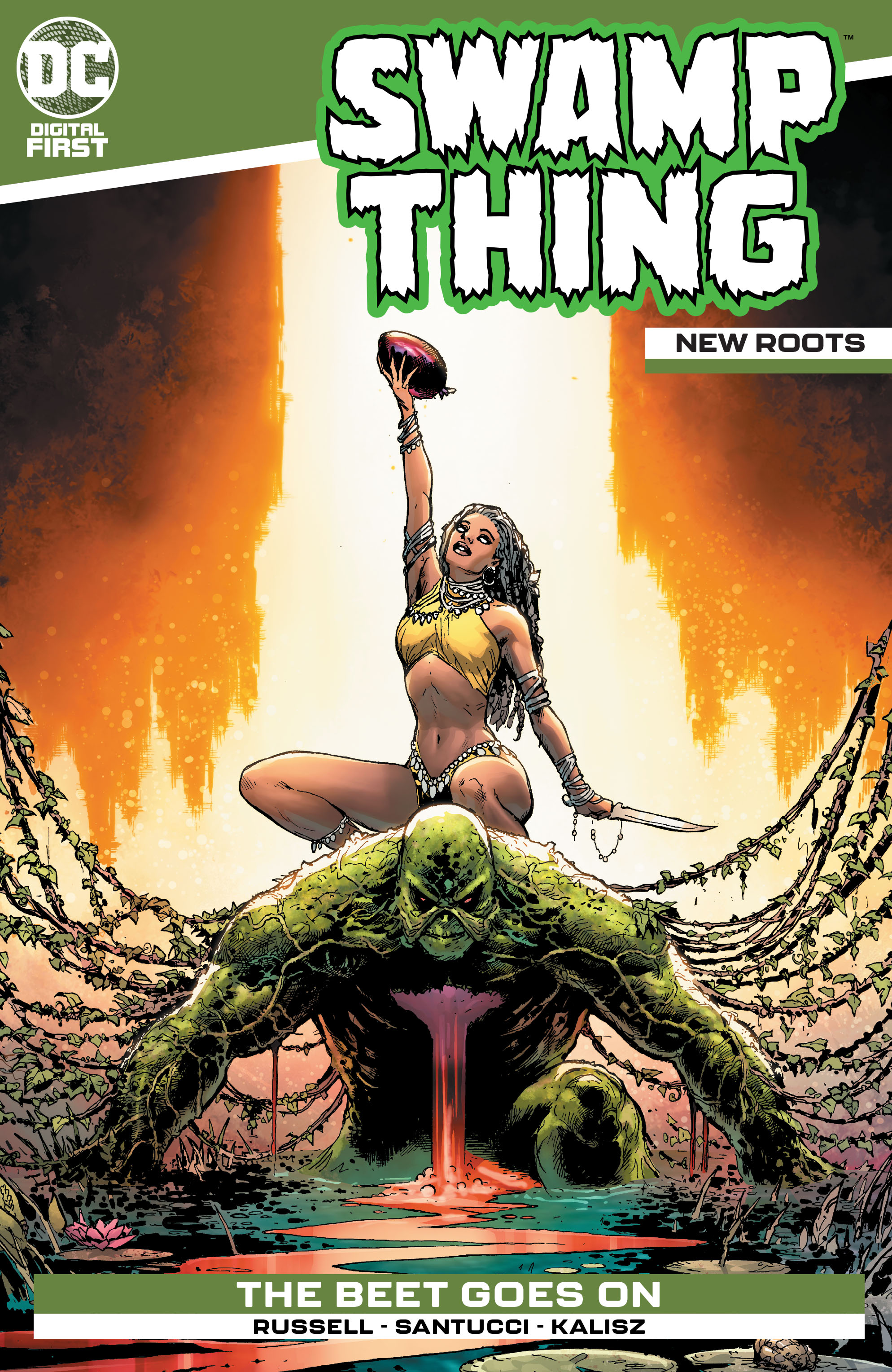 Swamp Thing: New Roots Vol 1 1 (Digital)
