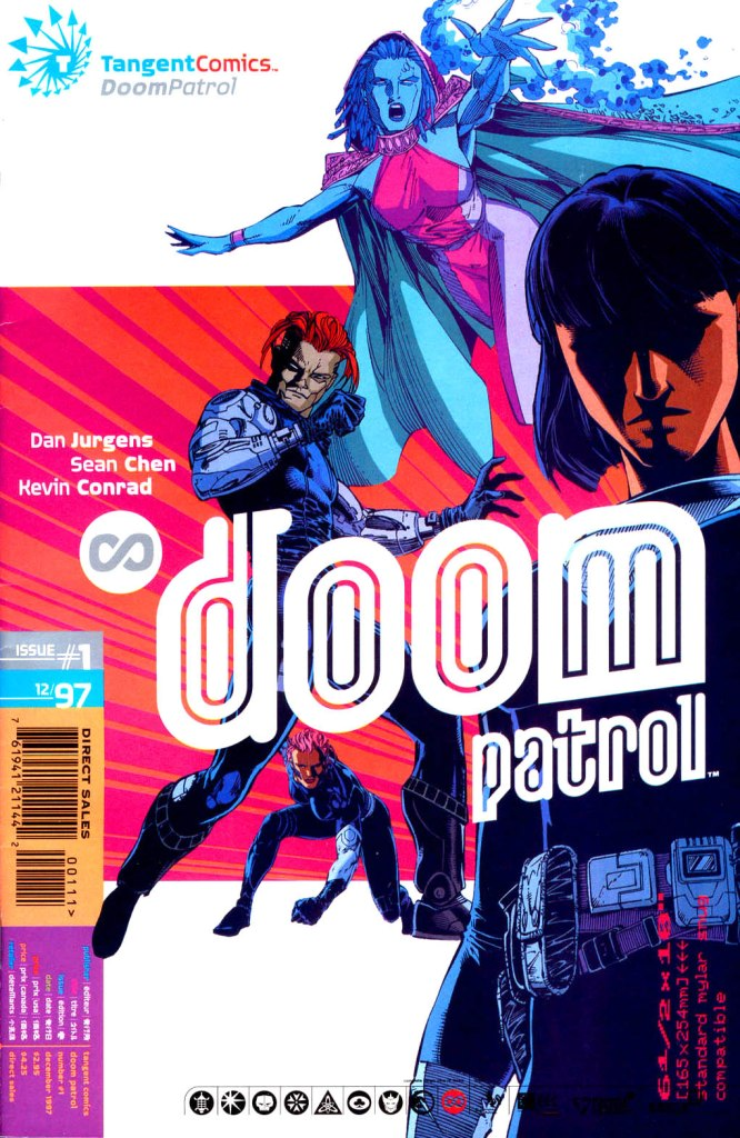 Tangent Comics: Doom Patrol Vol 1 1