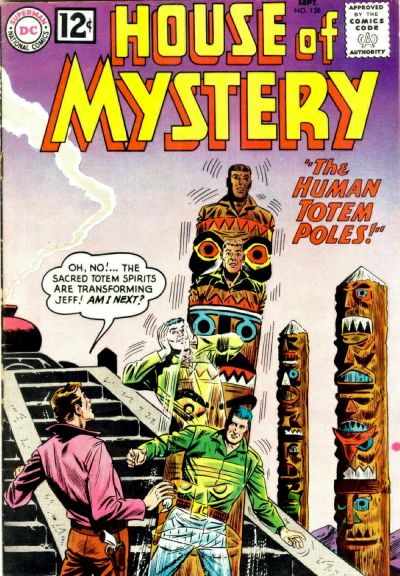 House of Mystery Vol 1 126