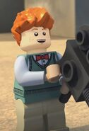 James Olsen Lego DC Heroes 0001