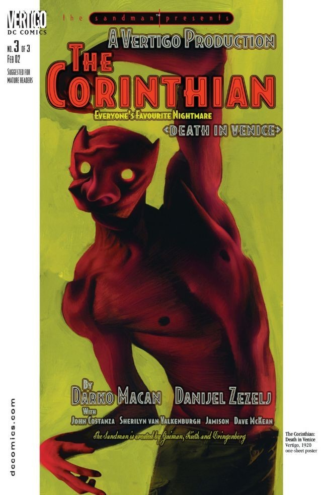 Sandman Presents: The Corinthian Vol 1 3