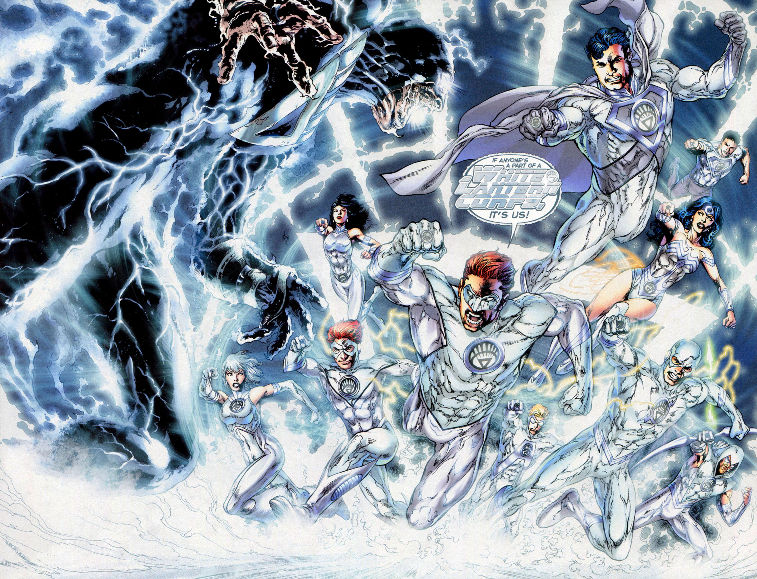 White Lantern Corps (New Earth)