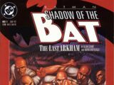 Batman: Shadow of the Bat Vol 1 1