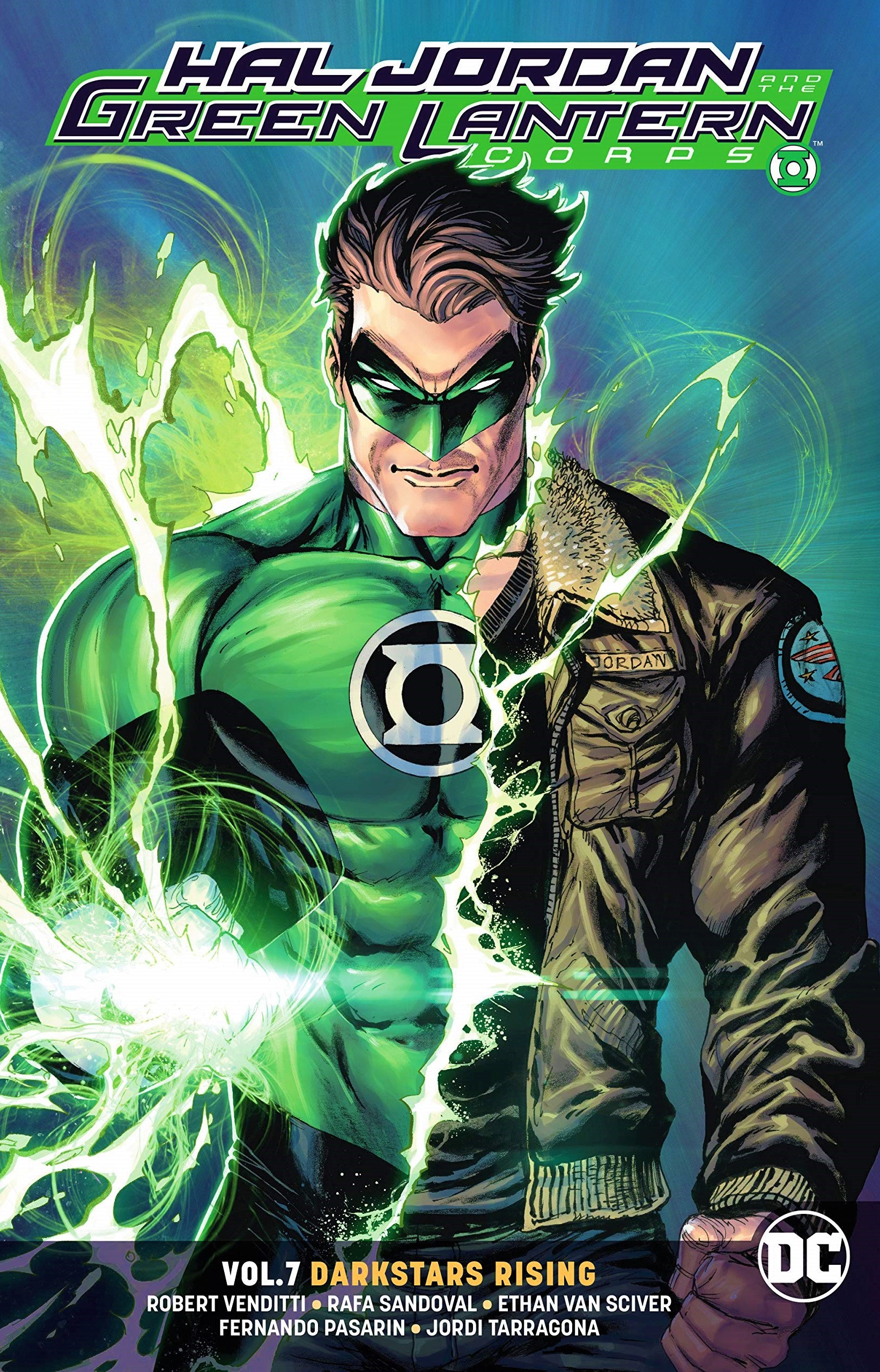 Hal Jordan and the Green Lantern Corps: Darkstars Rising (Collected)