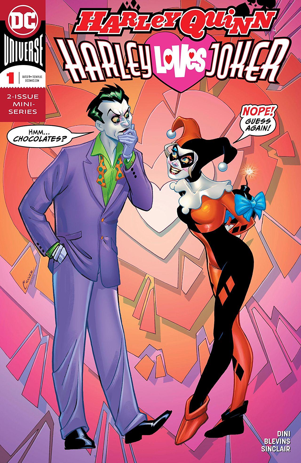 Harley Quinn: Harley Loves Joker Vol 1