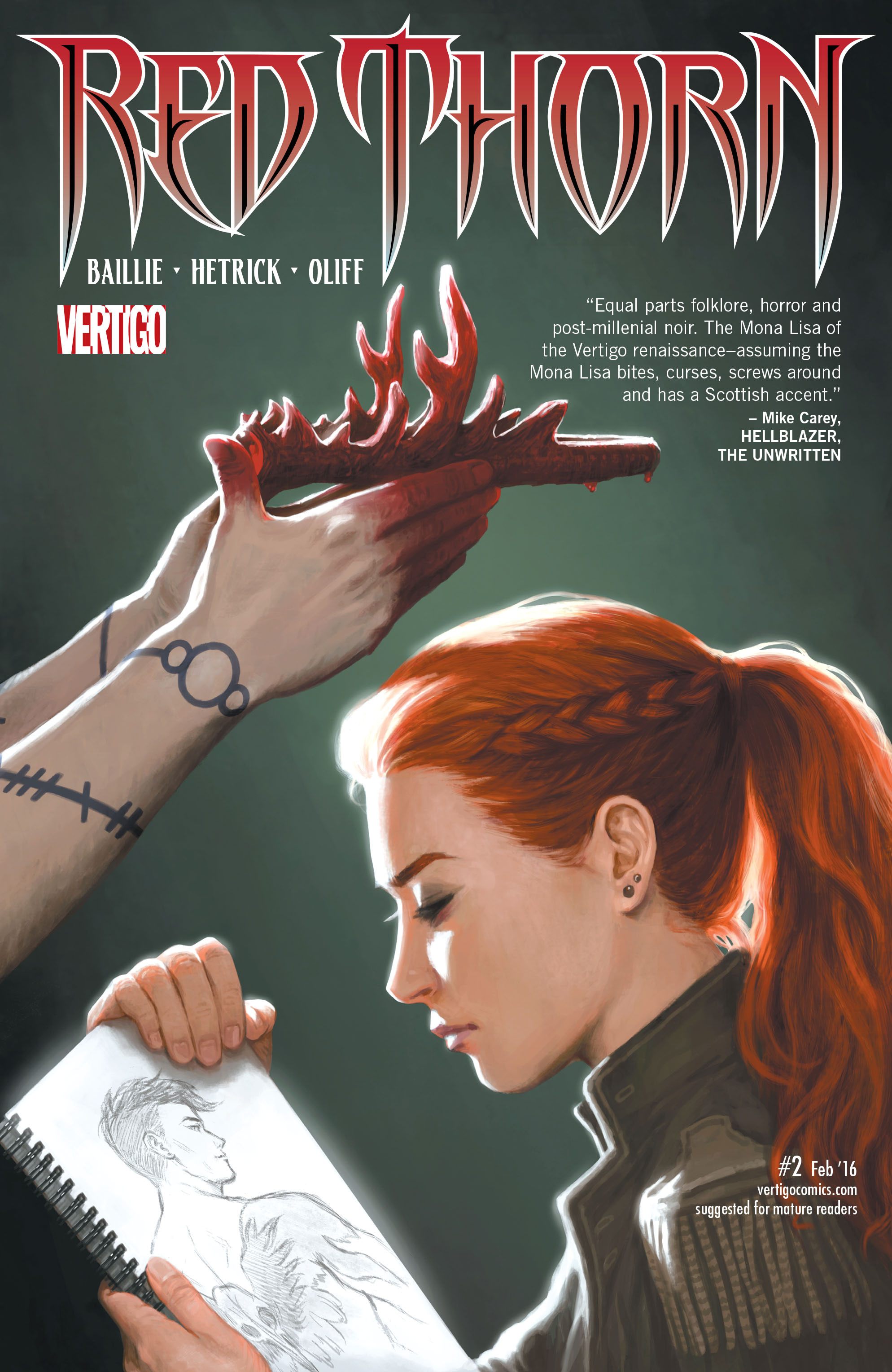 Red Thorn Vol 1 2