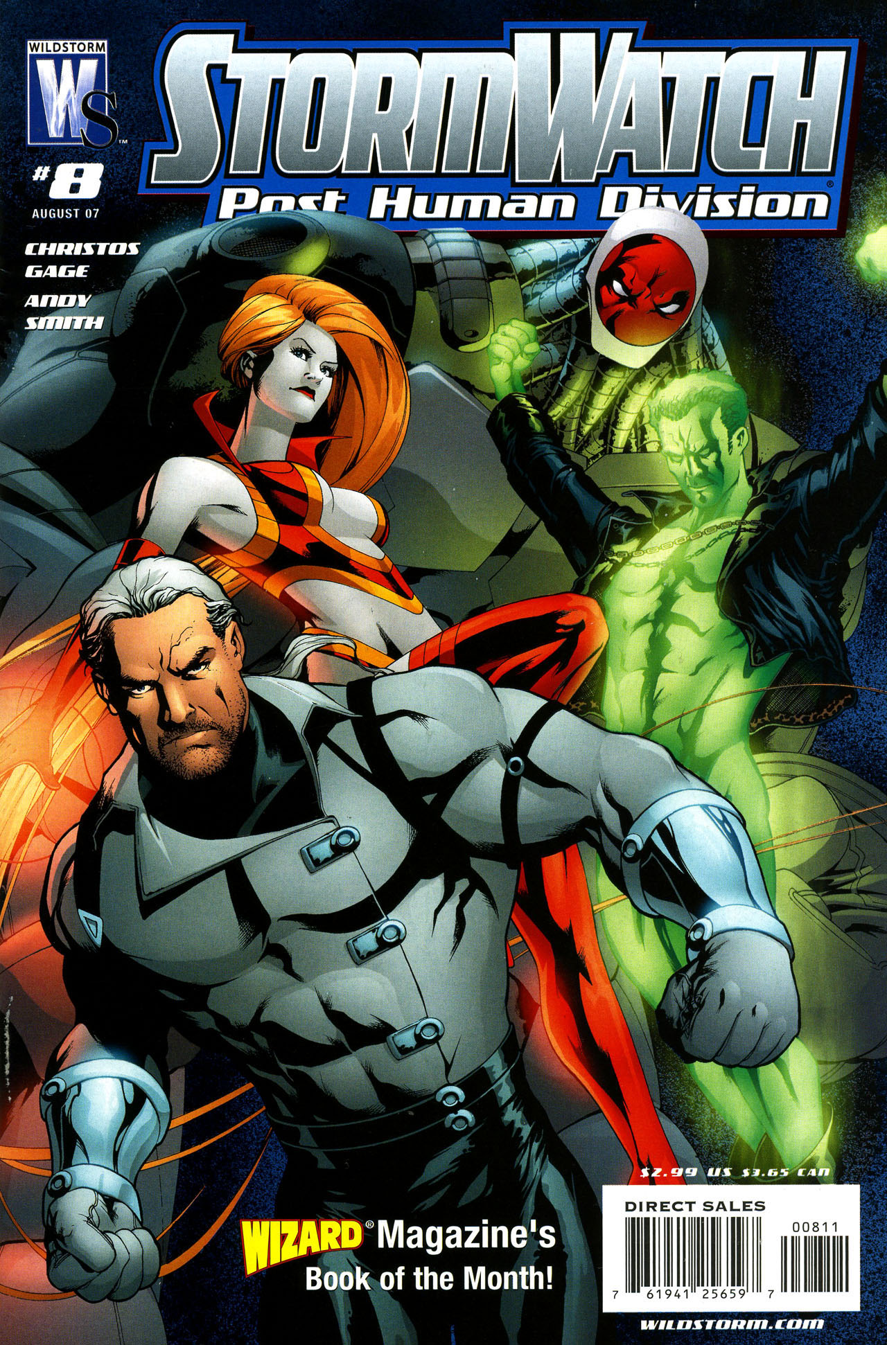 Stormwatch: Post Human Division Vol 1 8