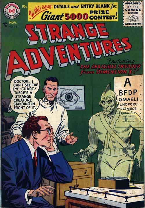 Strange Adventures Vol 1 74