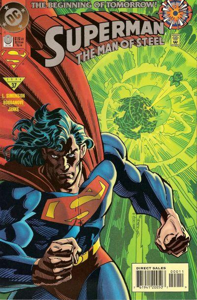 Superman: The Man of Steel Vol 1 0