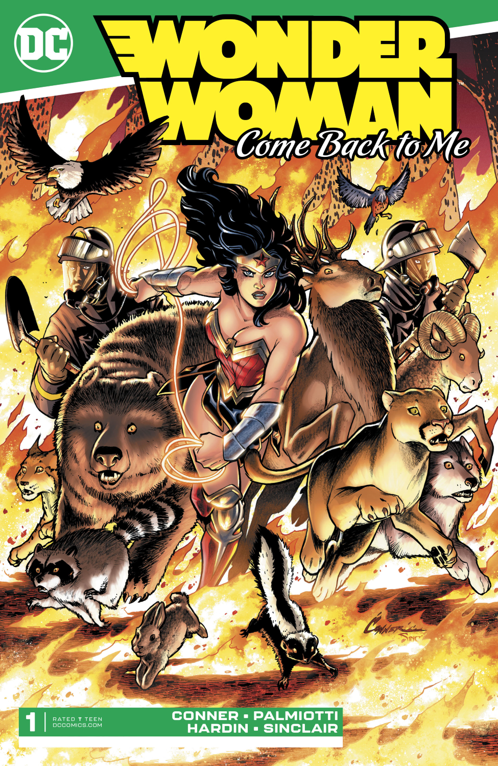 Wonder Woman: Come Back to Me Vol 1 1
