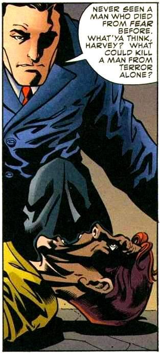 Bruce Wayne (Reaching Hand)