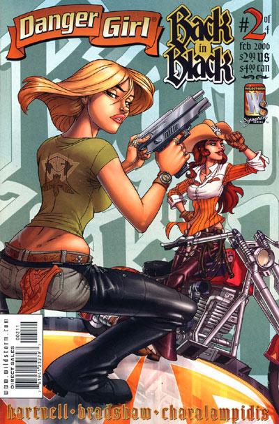 Danger Girl: Back in Black Vol 1 2