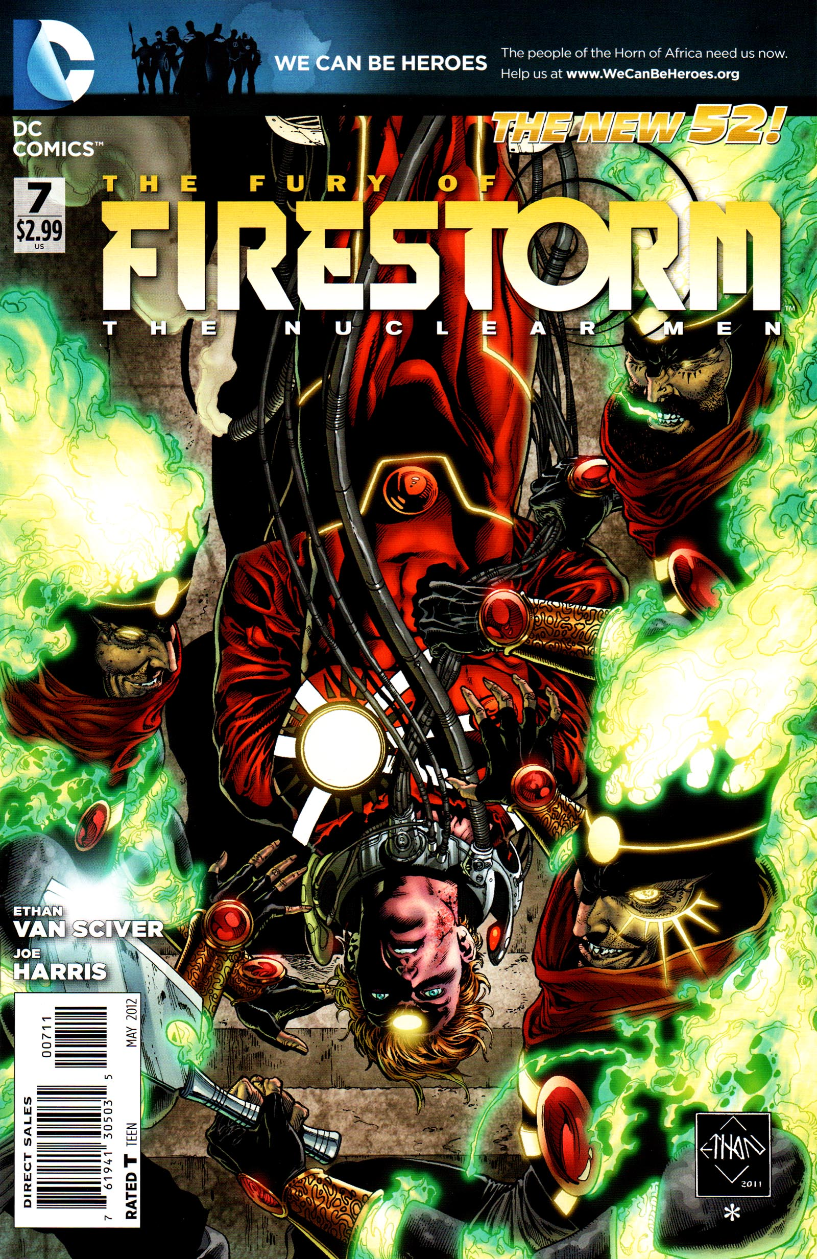 Fury of Firestorm: The Nuclear Men Vol 1 7