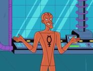 Mercury (Metal Men Shorts)