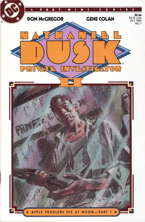 Nathaniel Dusk Vol 2