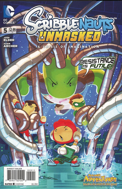 Scribblenauts Unmasked: A Crisis of Imagination Vol 1 5