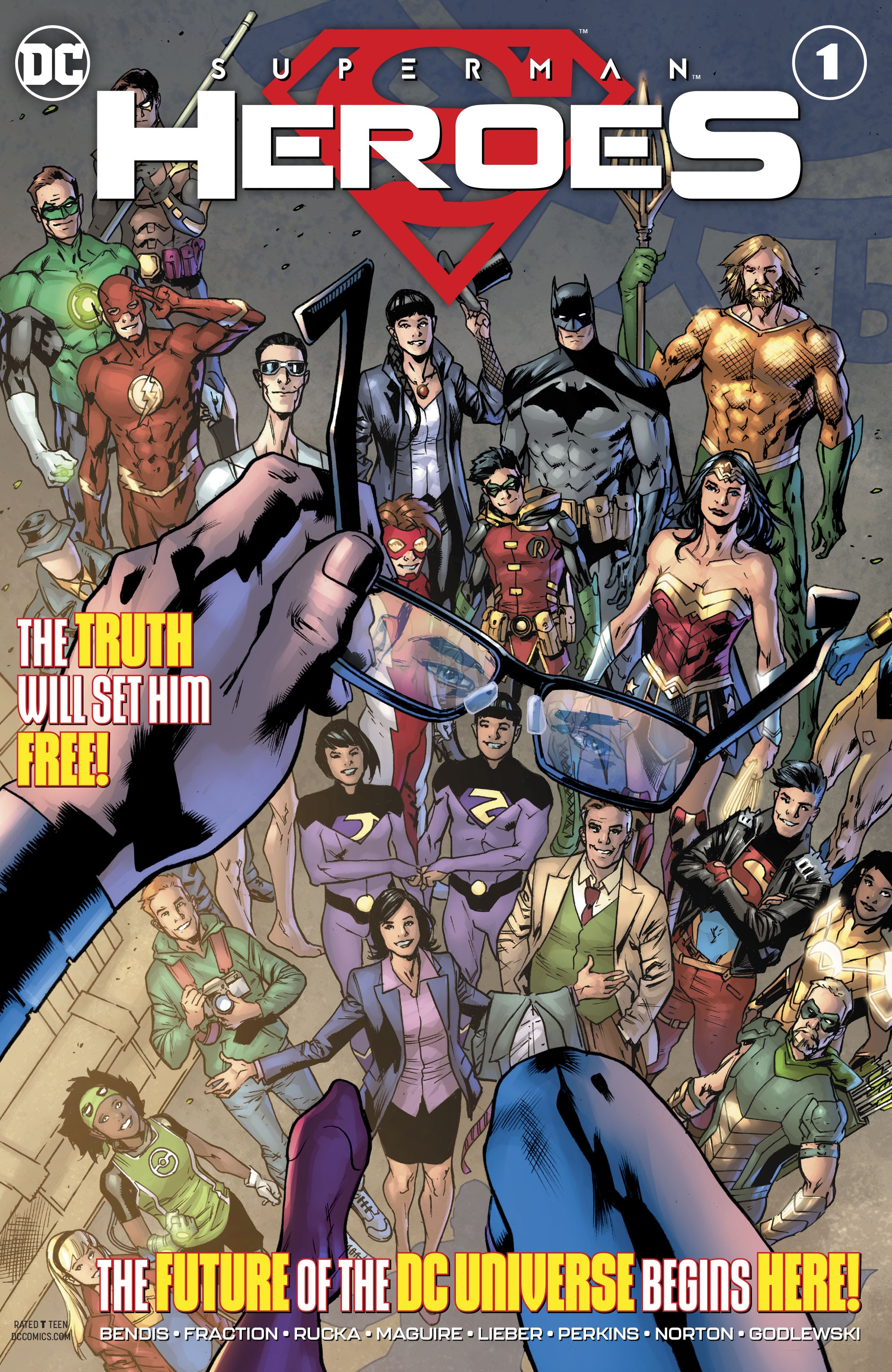 Superman: Heroes Vol 1 1
