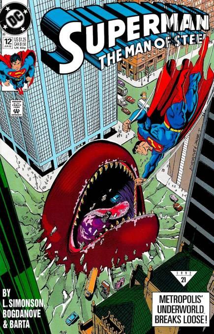 Superman: The Man of Steel Vol 1 12