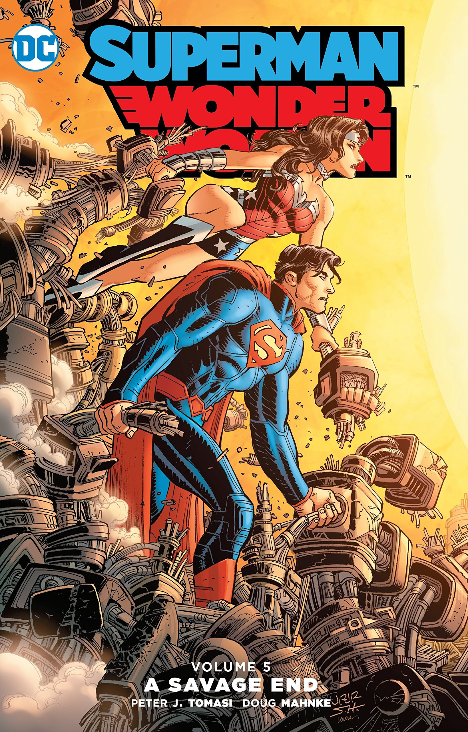 Superman/Wonder Woman: A Savage End (Collected)