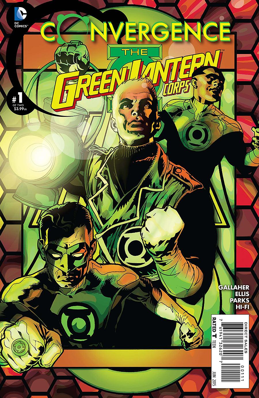 Convergence: Green Lantern Corps Vol 1