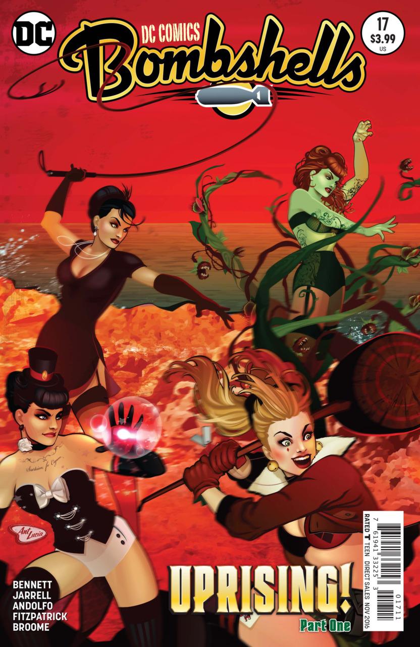 DC Comics Bombshells Vol 1 17