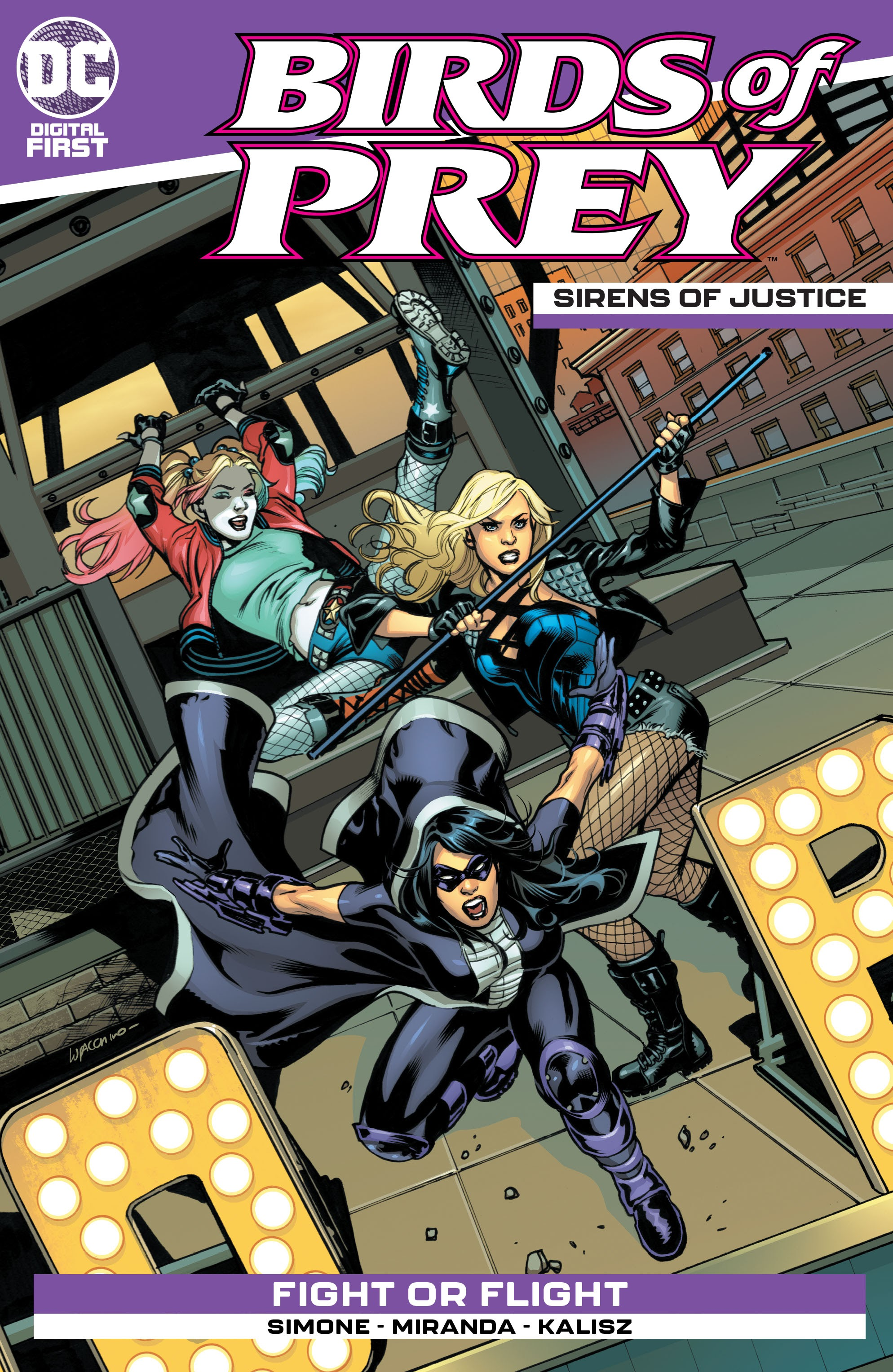 Birds of Prey: Sirens of Justice Vol 1 1 (Digital)