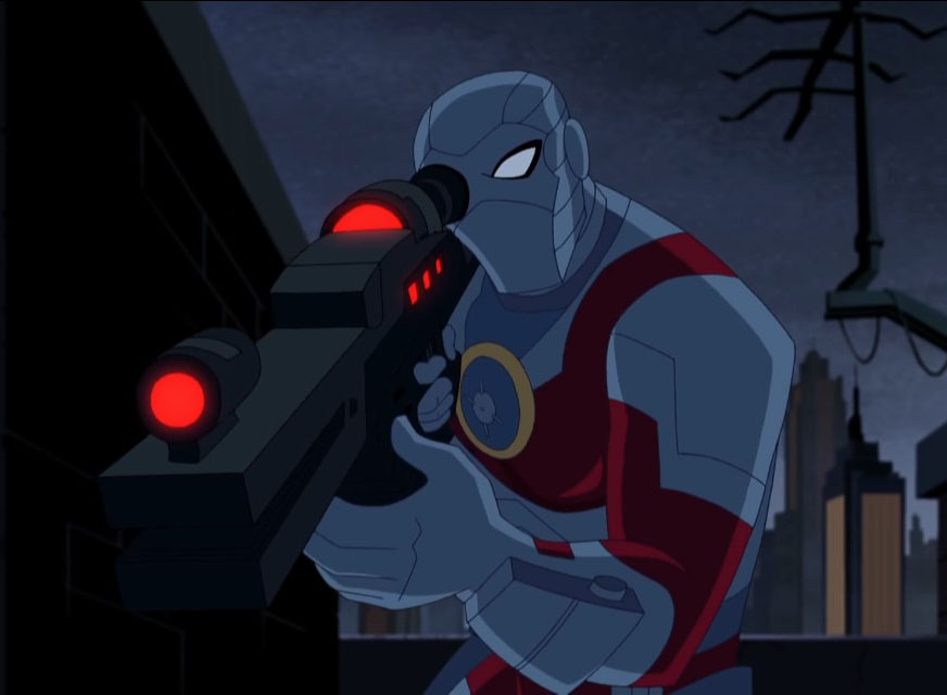 Floyd Lawton (Justice League Action)