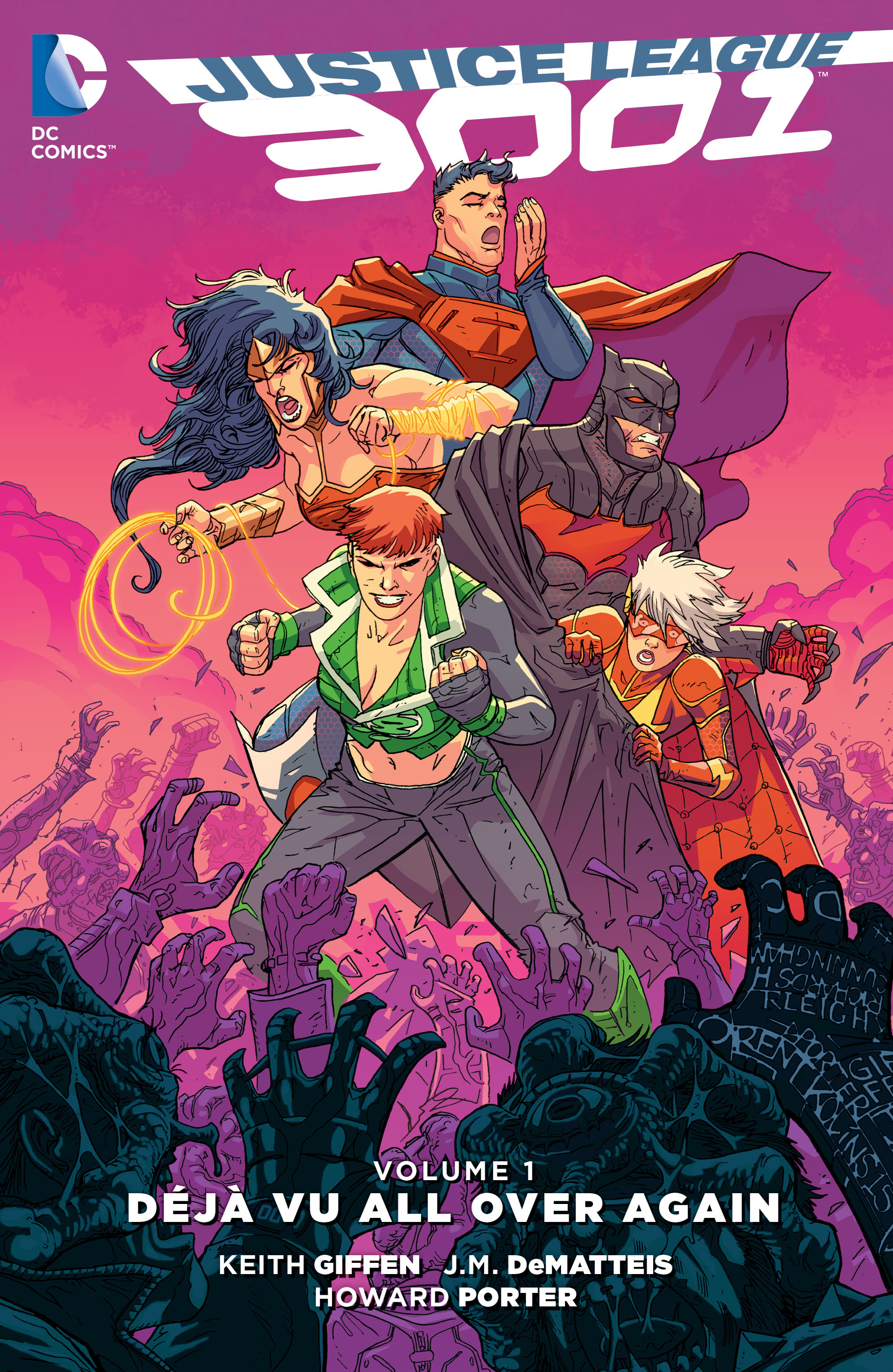 Justice League 3001: Déjà Vu All Over Again (Collected)