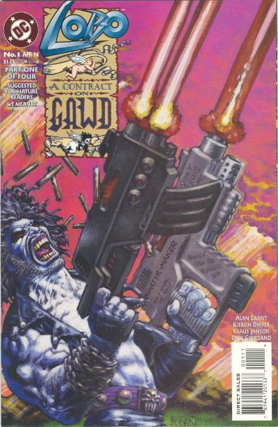 Lobo: A Contract on Gawd Vol 1 1