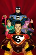 New Super-Man and the Justice League of China Vol 1 21 Textless Variant