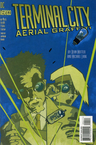 Terminal City: Aerial Graffiti Vol 1 4