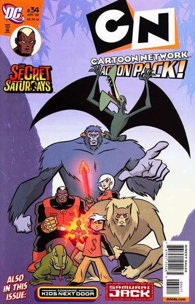 Cartoon Network Action Pack Vol 1 34