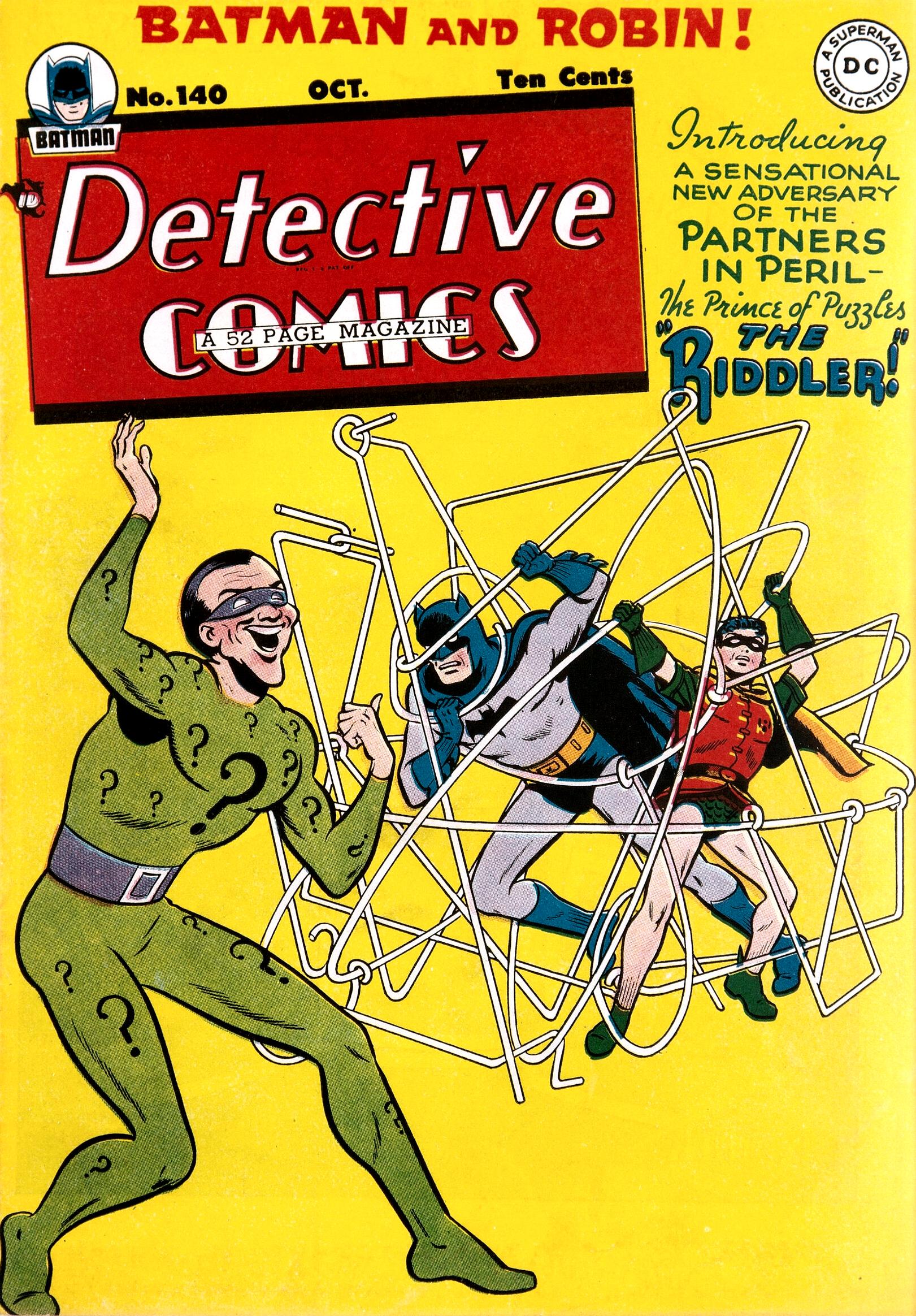 Detective Comics Vol 1 140