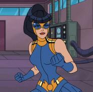 Eve Eden DC Showcase Blue Beetle 0001
