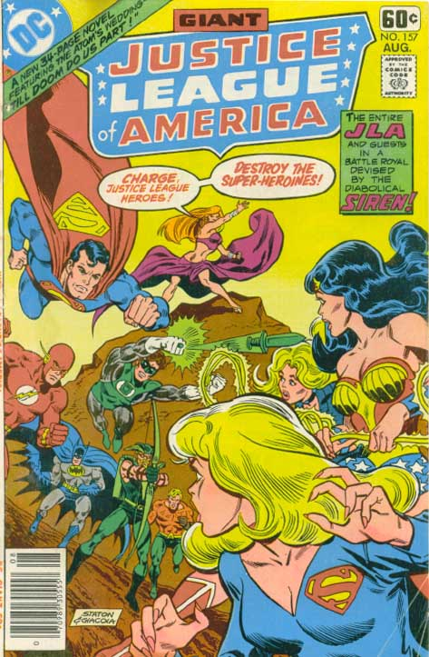Justice League of America Vol 1 157