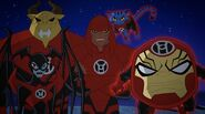 Red Lantern Corps Justice League Action 0001