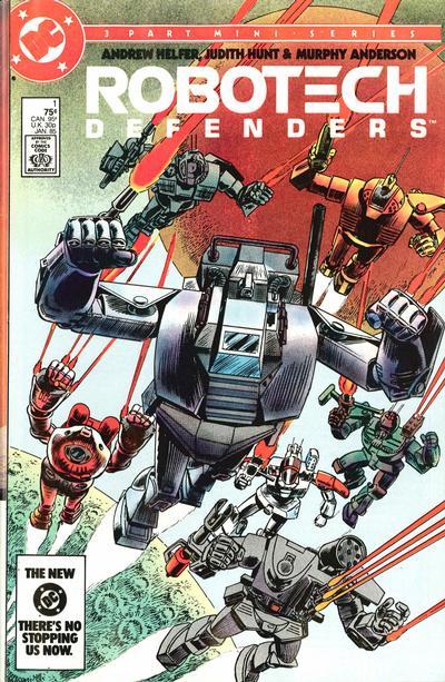 Robotech Defenders Vol 1