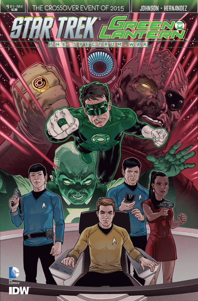 Star Trek/Green Lantern: The Spectrum War Vol 1