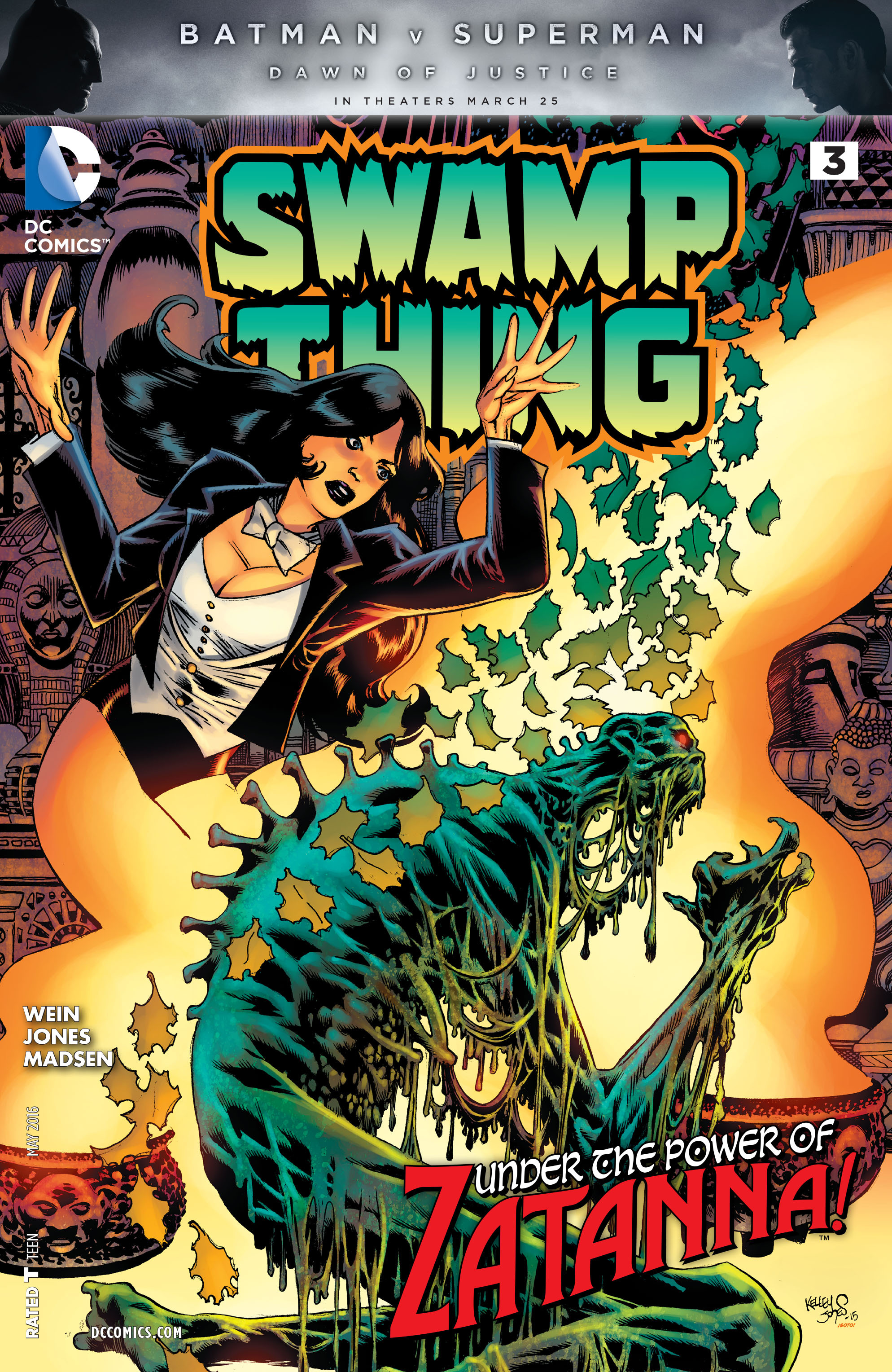 Swamp Thing Vol 6 3