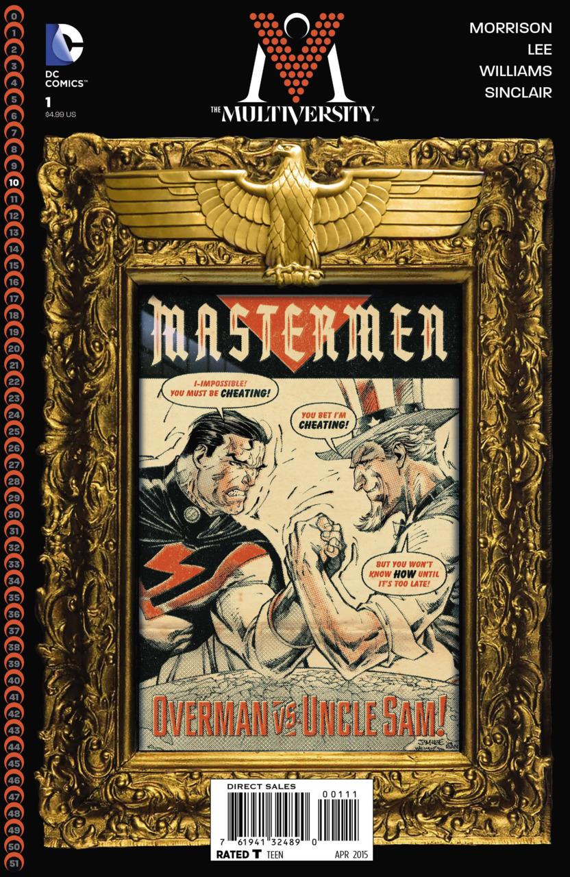 The Multiversity: Mastermen Vol 1 1