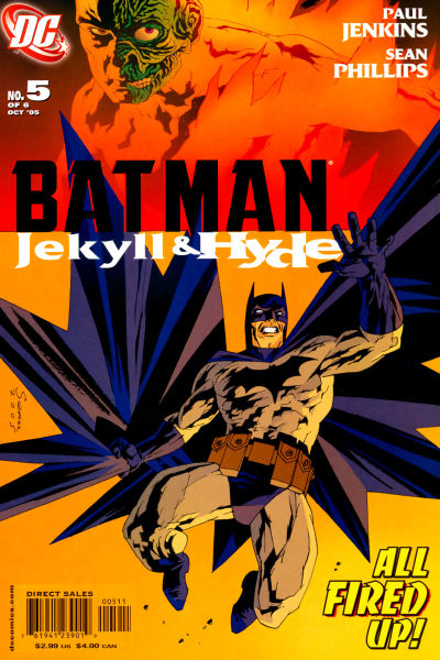 Batman: Jekyll and Hyde Vol 1 5