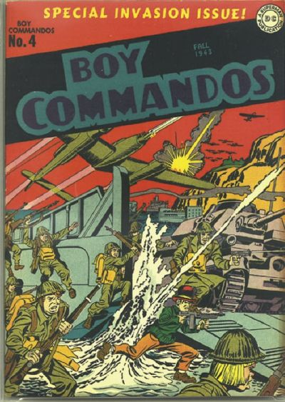 Boy Commandos Vol 1 4