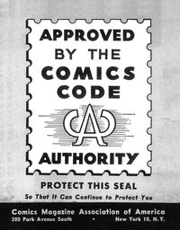 The Comics Code of Authority Seal of Approval