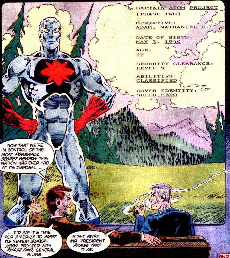 Captain Atom Project/Gallery