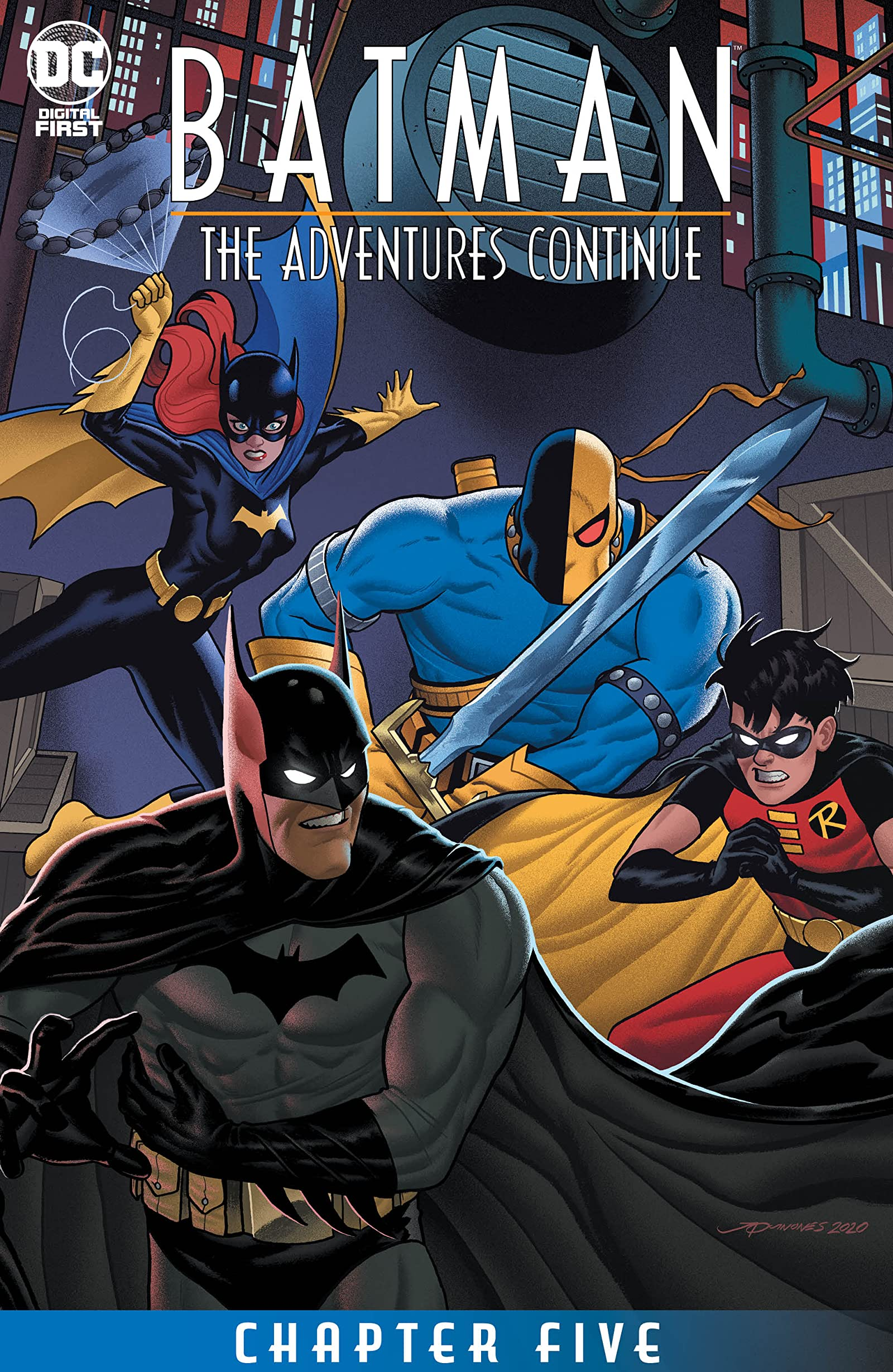 Batman: The Adventures Continue Vol 1 5 (Digital)