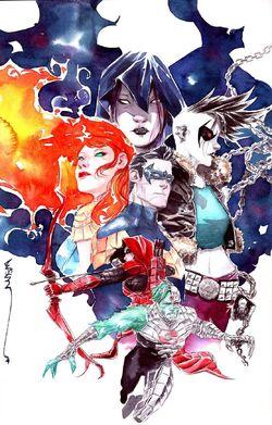 Future State Teen Titans Vol 1 1 Textless Variant.jpg