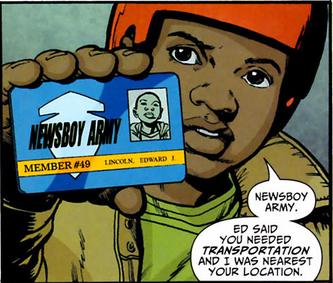 Newsboy Army (New Earth)
