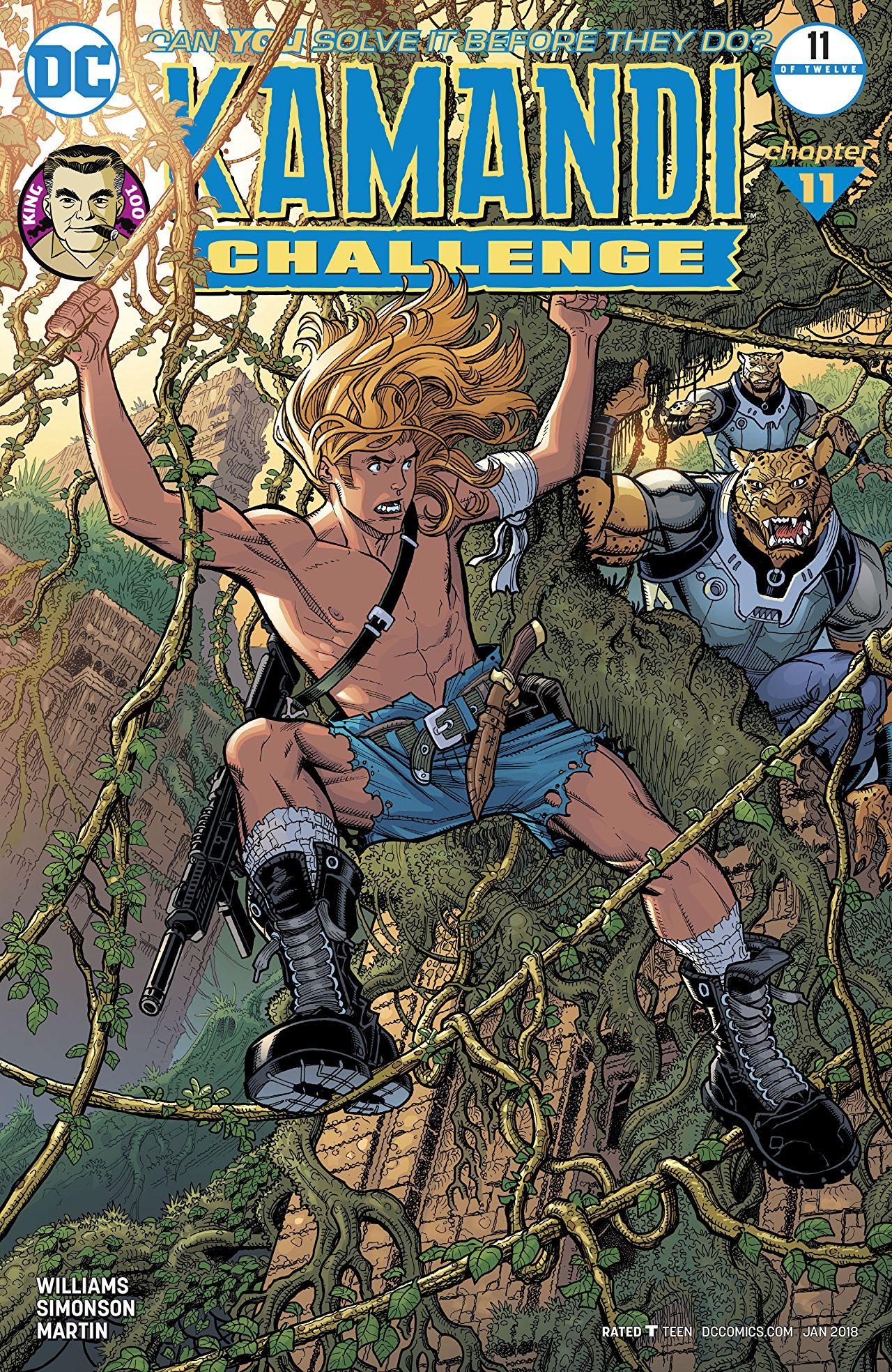 The Kamandi Challenge Vol 1 11